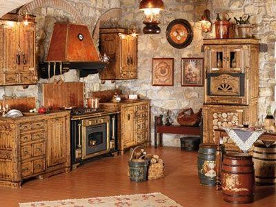 Consigli per l 39 arredamento rustico totaldesigntotaldesign - Arredamento rustico casa ...