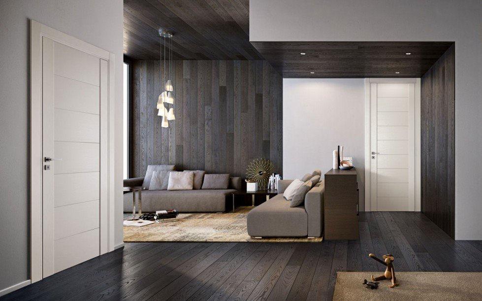 Pavimento Scuro Colore Pareti : Porte e pavimento: a ciascuno il suo stile totaldesigntotaldesign