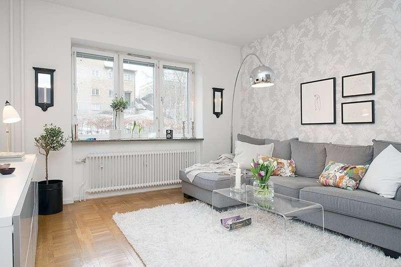 Pareti Soggiorno Grigio E Bianco : Come scegliere i colori delle pareti del soggiorno