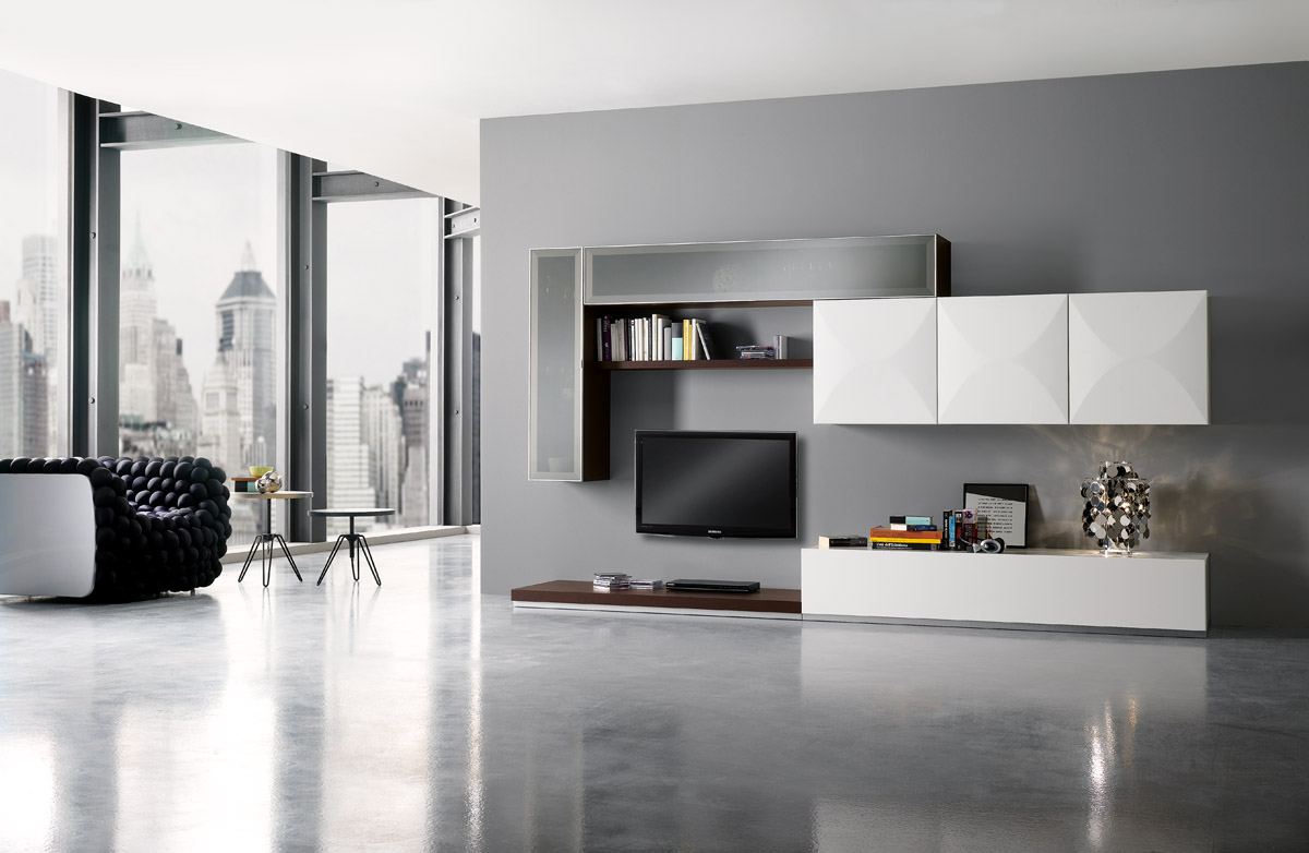 Come scegliere il colore delle pareti del soggiornototaldesign for Arredamento bianco e grigio