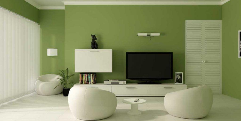 Pareti Salotto Verde : Come scegliere i colori delle pareti del soggiorno