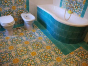 bagno in ceramica vietrese