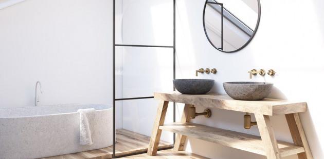 bagno minimalista