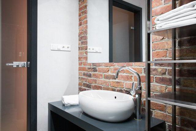 bagno rustico muratura